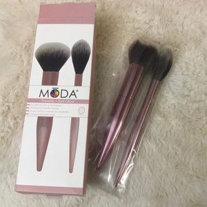 Moda brush duo powder and soft glow